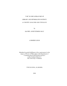 Phd thesis in library science