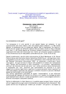 Conoscenza nome collettivo e lis repository for Giardino e nome collettivo